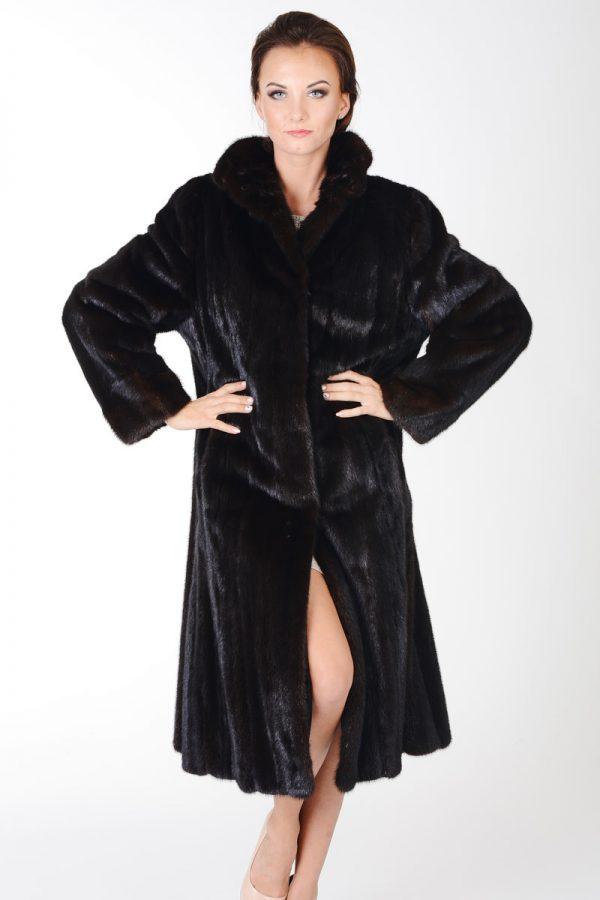 płaszcz z norki