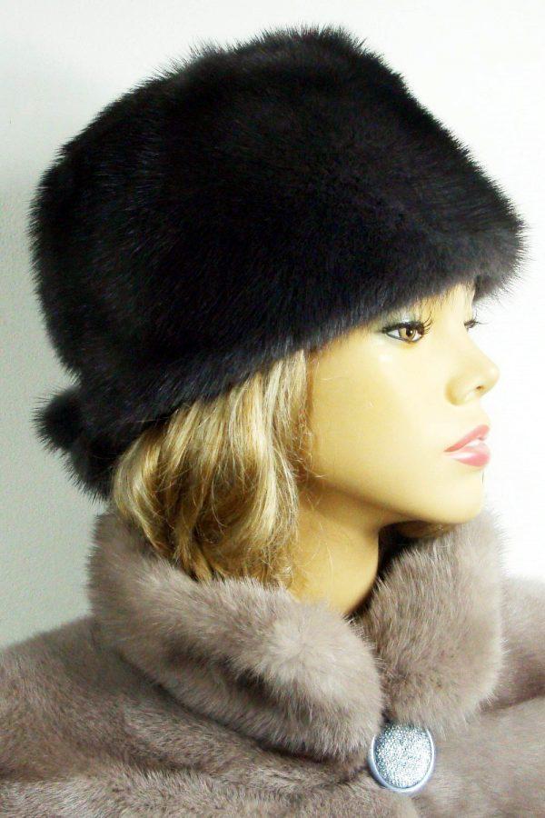 czapka z norek LN04