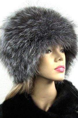 czapki z lisa srebrnego